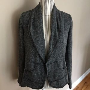 CAbi woman's Dark Gray Sweater Cardigan SZ Small